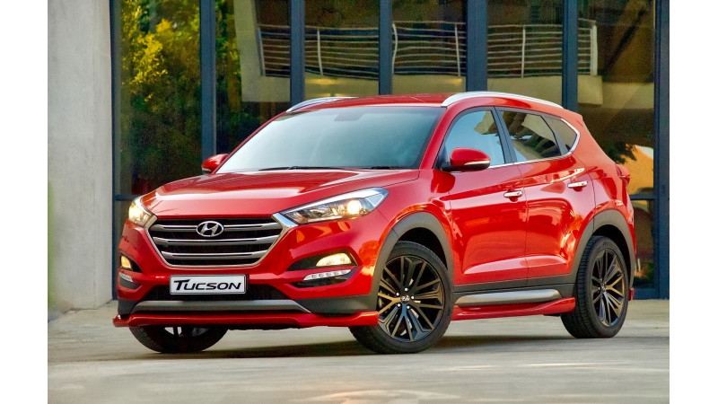 Hyundai Tucson Sport unveiled in South Africa
