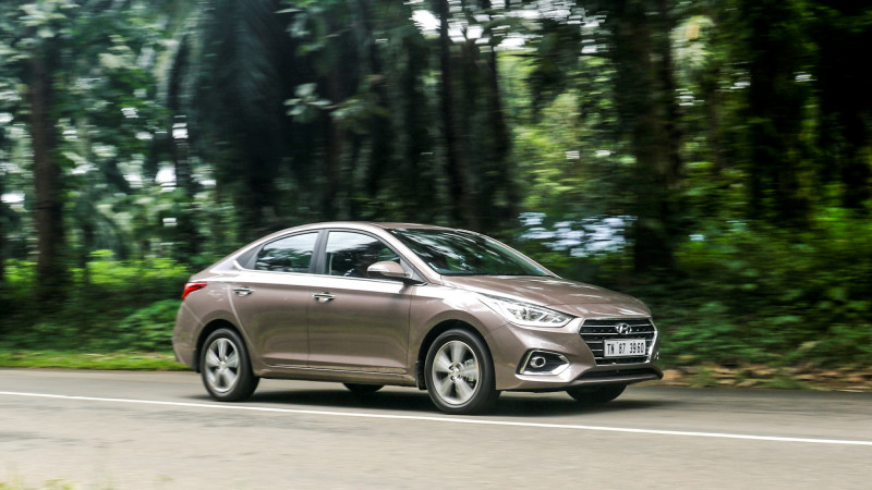 India-manufactured Hyundai Verna exported to Middle-East