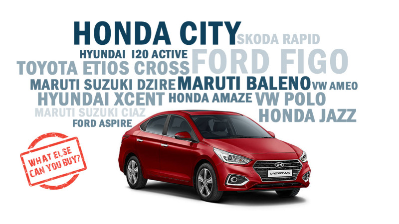 New Hyundai Verna - What else can you buy for a similar price