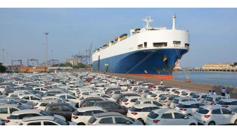 Major automakers in India start coastal shipping of cars
