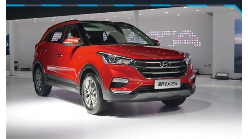 The face lifted Hyundai Creta unveiled internationally