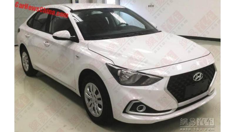 Hyundai Celesta to be sold between Verna and Elantra in China