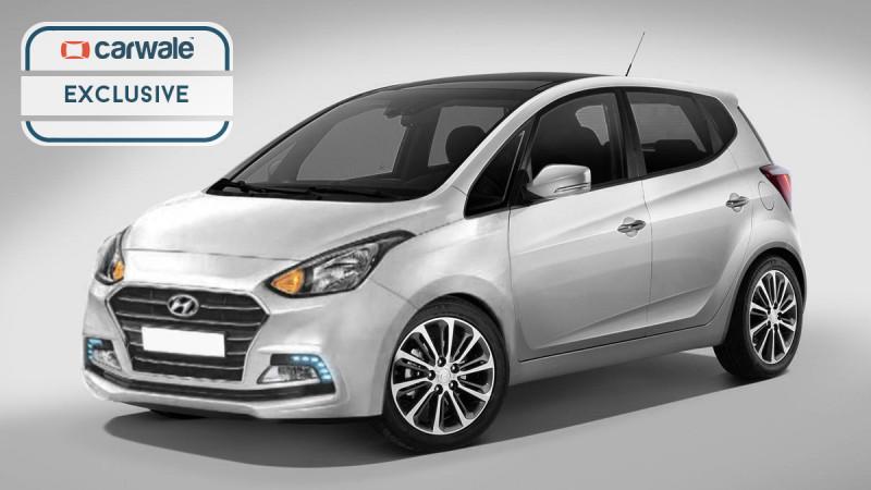 New Hyundai Santro digitally rendered