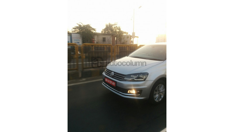 Volkswagen Vento 2016 spotted
