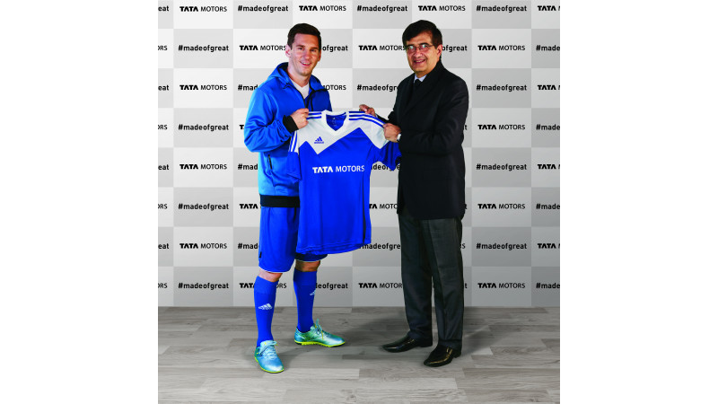 Lionel Messi is the brand ambassador for Tata Motors