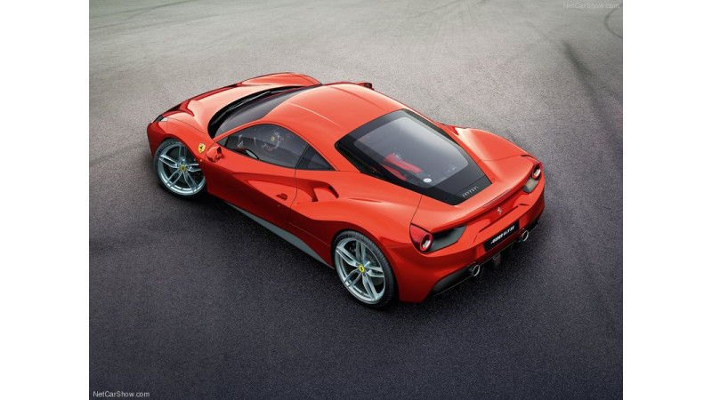 High performace Ferrari 488 in the works