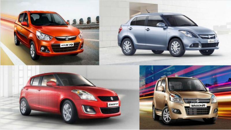 India's 10 top-selling cars in April 2016