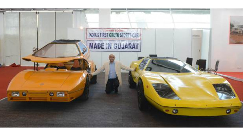 India's first electric sports car, Super Nova Electric Vehicle (SNEV), developed in Gujarat
