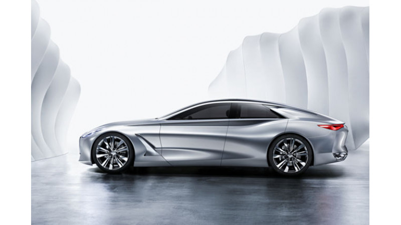 Infinity to unveil large sedan concept at Detroit Motor Show