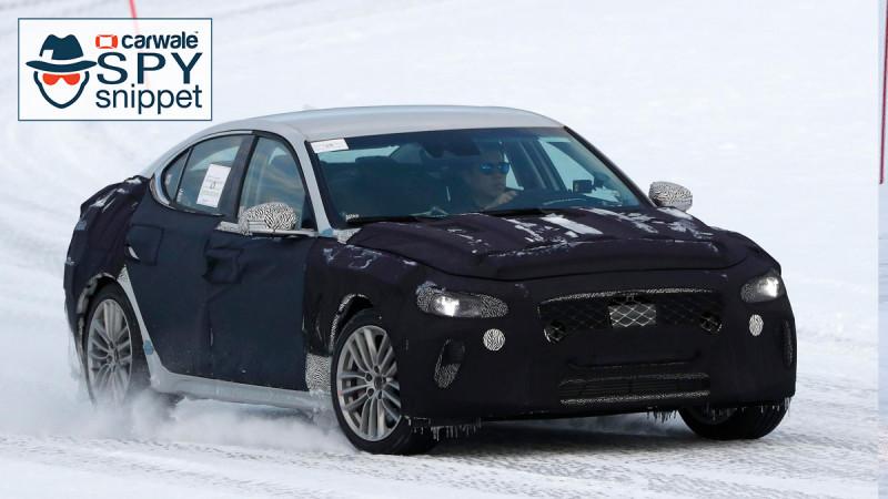 Hyundai Genesis G70 spotted testing