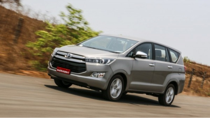 Toyota Innova Crysta petrol bookings open at Rs 1 lakh