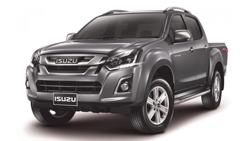 Isuzu premiers the D-Max facelift in Thailand