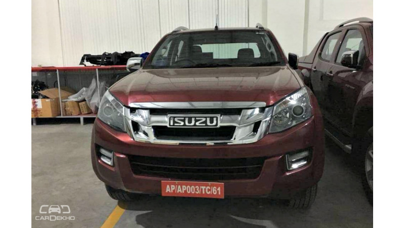 2018 Isuzu D-Max V-Cross revealed in pictures