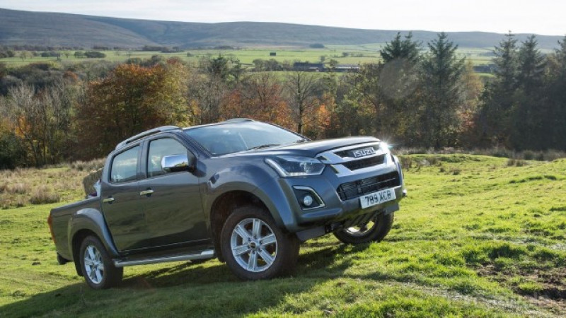 2017 Isuzu D-Max introduced in the UK