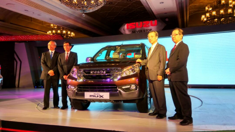 Isuzu launched the MU-X in India at Rs 23.99 lakh