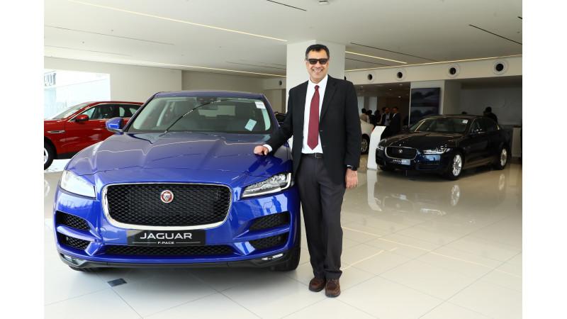 Jaguar Land Rover inaugurates a new showroom in Kolkata