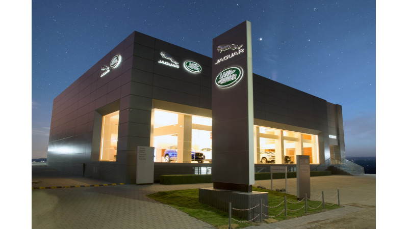 JLR expands its dealer network with a new 3S facility in Surat