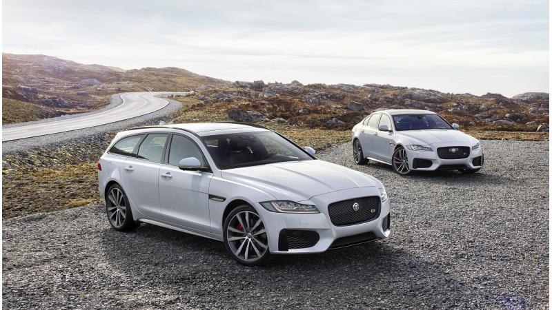 Jaguar reveals the XF Sportbrake in UK