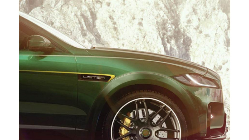 Lister tuned Jaguar F-Pace SVR to soon emerge as world's fastest SUV