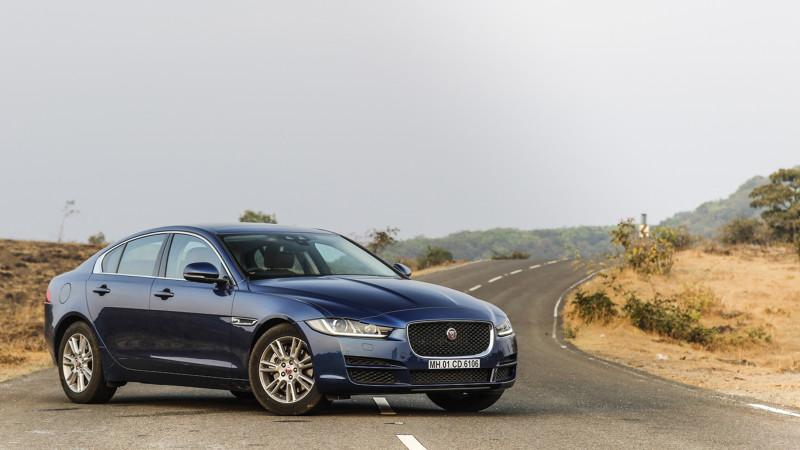 Jaguar XE diesel makes its India debut