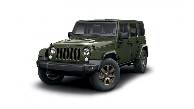 Jeep introduces the new 75th Anniversary Wrangler