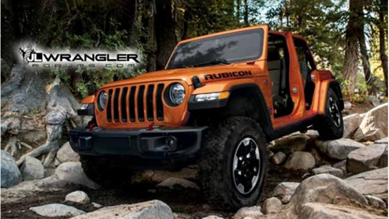 Jeep Wrangler 2018 details leaked