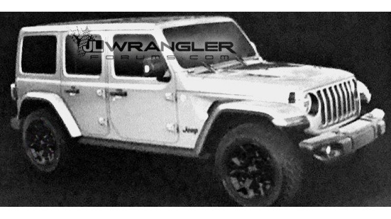 All-new Jeep Wrangler JLU leaked
