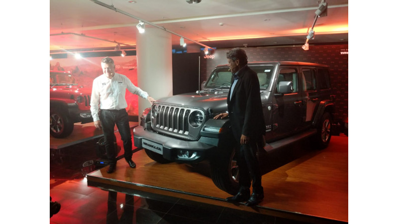 New Jeep Wrangler launched in India at Rs 63.94 lakhs