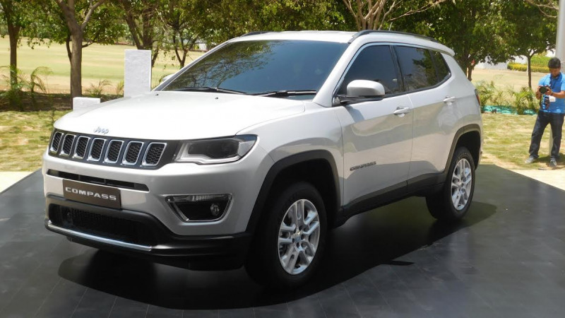 Five stars in the Euro NCAP rating for the Jeep Compass