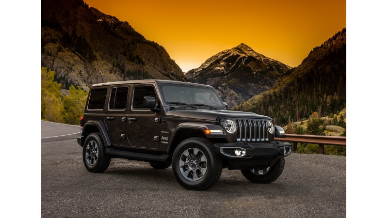 2018 Jeep Wrangler revealed at the SEMA