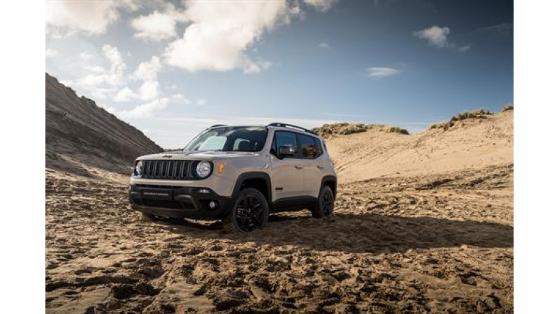 Jeep limited edition Renegade 'Desert Hawk' launched in UK