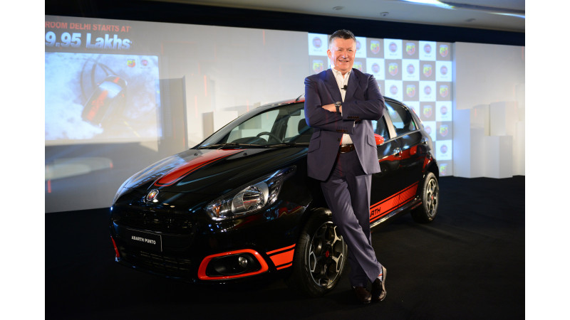 Abarth Punto launched for Rs 9.95 lakhs