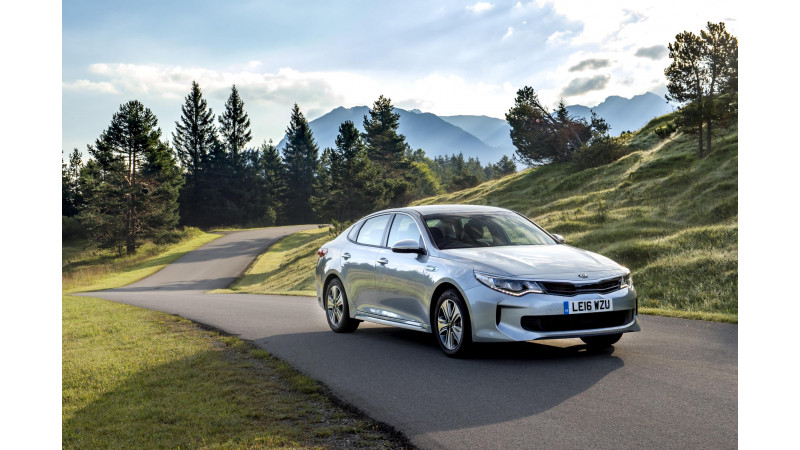Kia's first hybrid offering Optima PHEV launched in the UK