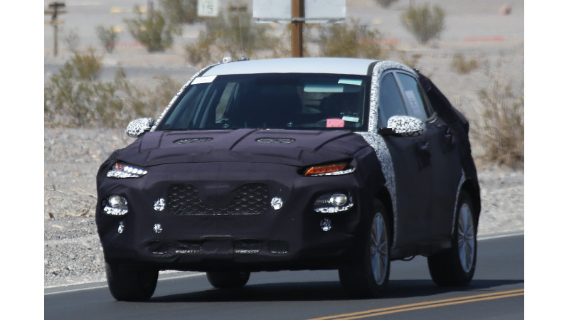 Kia testing new crossover model