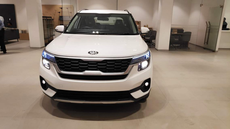 Kia Seltos HTK Plus variant arrives at dealerships ahead of launch