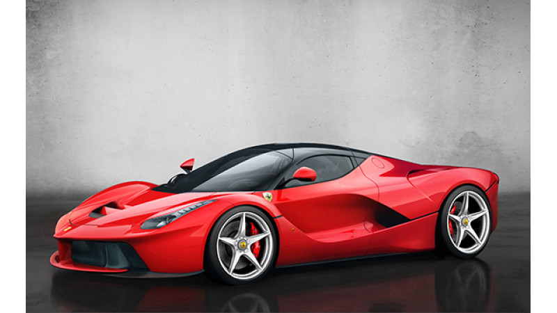 Ferrari to auction 500th unit of LaFerrari to benefit Italy earthquake victims