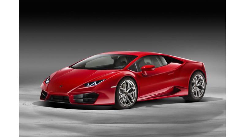 Lamborghini Huracan LP580-2 Rear-wheel-drive unveiled