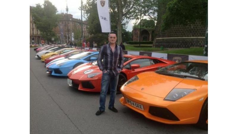 Gautam Singhania participates in Lamborghini 50th Anniversary Grand Tour