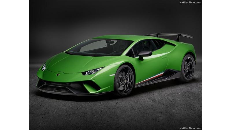 Lamborghini Huracan Performante India launch on April 7