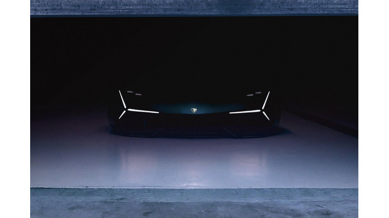 Lamborghini hybrid sports car concept to be revealed tomorrow