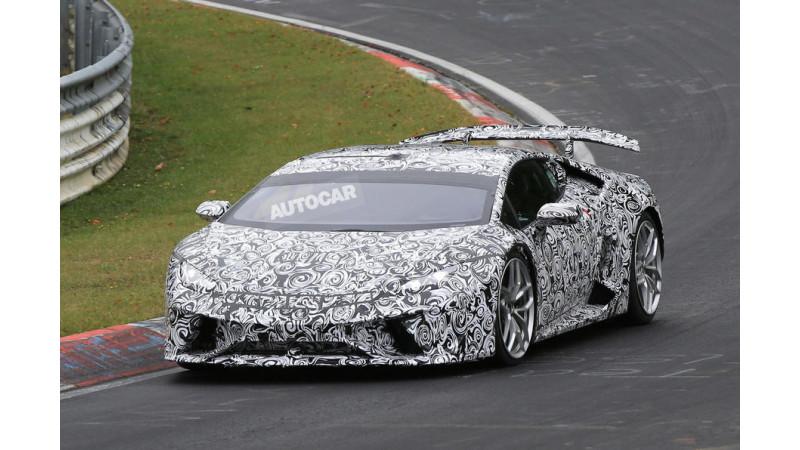 Lamborghini Huracan Peformante name patented; mid-2017 launch