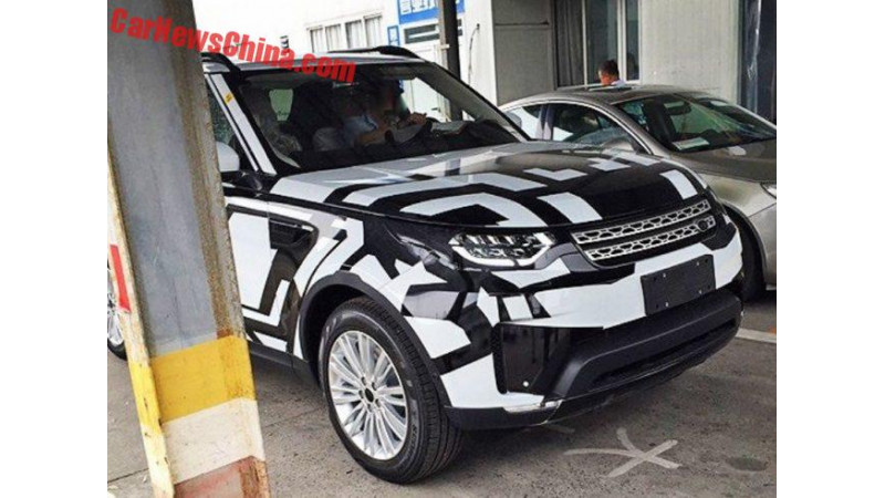 Land Rover testing next-gen Discovery in China