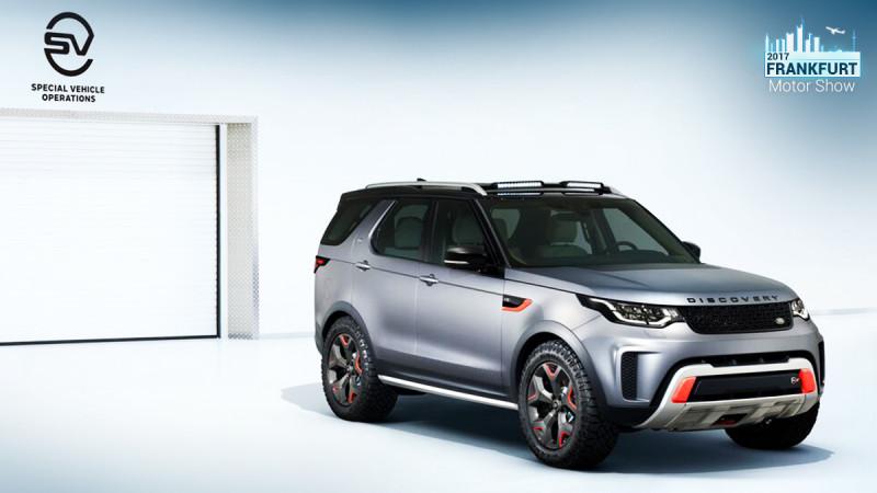Frankfurt Motor Show 2017: Land Rover Discovery SVX revealed