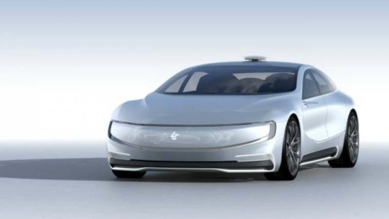 LeEco all-electric supercar unveiled