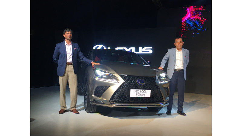 Lexus unveils the new NX SUV in India
