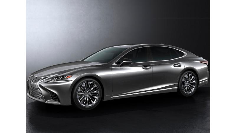 Lexus launched its flagship LS500 sedan at Detroit Motor Show