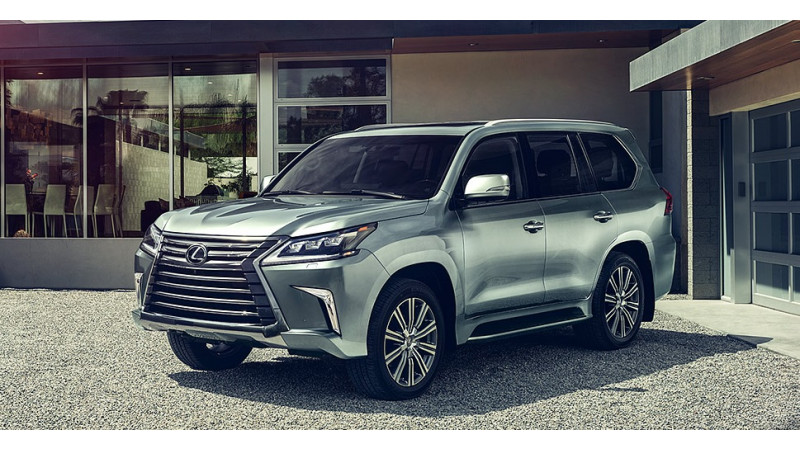 Lexus launched the LX570 in India at Rs 2.32 crore