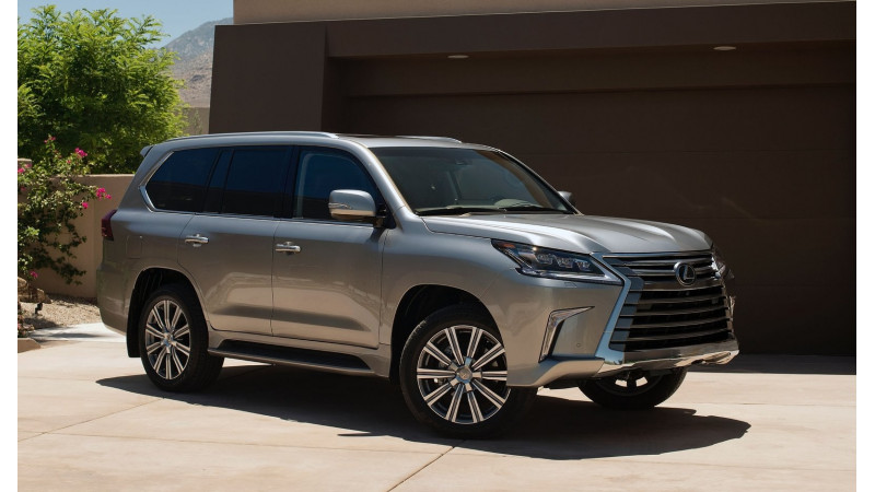 Lexus LX570 explained in detail