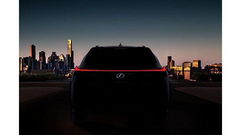 Lexus to globally unveil UX crossover global on 6 March