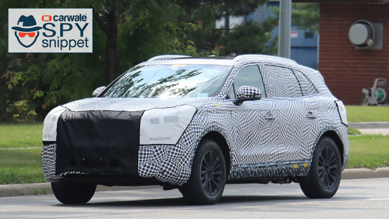 Lincoln spotted testing the new 2018 MKX